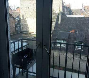 renovierte Altbauwohnung in der Innenstadt, 22 qm