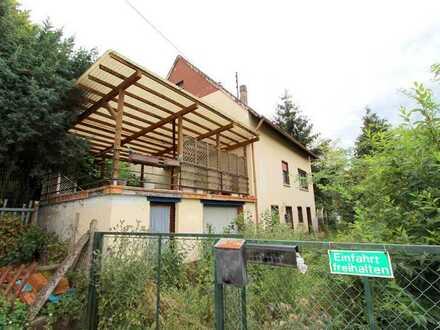 BIETERVERFAHREN - geräumiges Einfamilienhaus mit Garage und Garten - stark sanierungsbedürftig