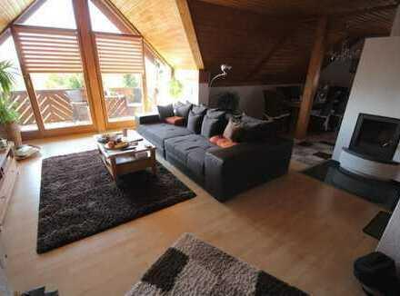 Tolle Maisonettwohnung mit 162 m² Nutzfläche und freiem Blick in Richtung Berge!