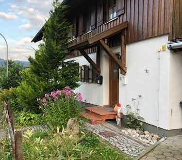 Einfamilienhaus in Top Lage mit wunderschönem Garten und Bergsicht im Allgäu