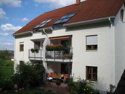 Gepflegte 3-Zimmer-Wohnung mit Balkon in Bad Köstritz
