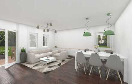Neubau- Wohnung mit 5 Zimmer im Altbestand