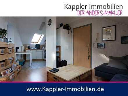 Attraktive 2 Zimmer-Wohnung, nur 700 m von der S-Bahn entfernt I Kappler Immobilien