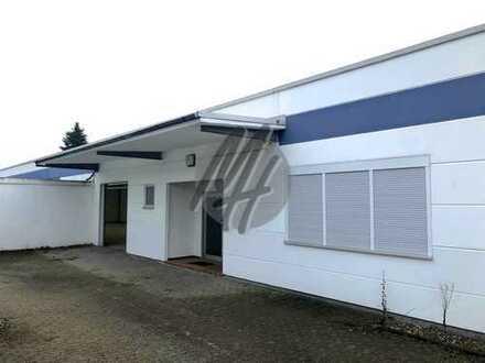 VIELSEITIG NUTZBAR ✓ AB SOFORT ✓ Lager-/Produktion (880 m²) & Büro-/Sozial (320 m²) zu vermieten