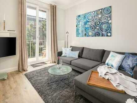 Schöne, möblierte Zwei-Zimmer Wohnung in HH-St. Georg