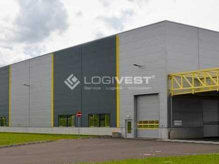 Projektierter Neubau einer Lager-/Produktions- und Werkstatthalle