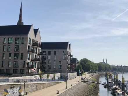Erstbezug: stilvolle 4-Zimmer-Terrassenwohnung mit Einbauküche und Balkon in Bremen