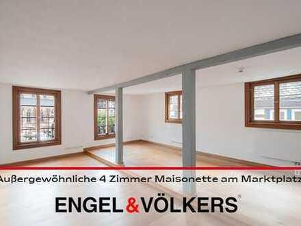 Außergewöhnliche 4 Zimmer Maisonette am Marktplatz!