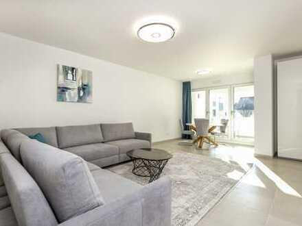 (NEUBAU+ERSTBEZUG) Möblierte 3 Zimmer Wohnung inkl. Klimaanlage in Top Lage Bogenhausen