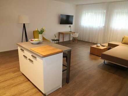 Erstbezug mit Einbauküche und Terasse: exklusive 2-Zimmer-Wohnung in Gärtringen