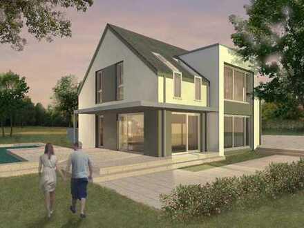 Frei geplantes Architektenhaus in gewachsener Umgebung