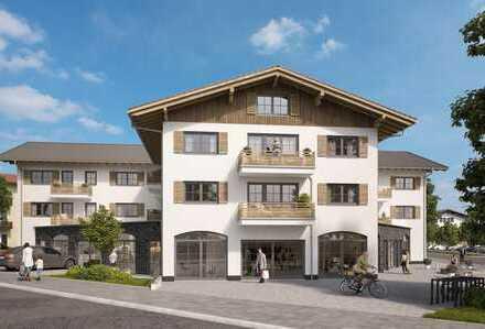 4 Zimmer- Wohnung über 2 Etagen am Tegernsee
