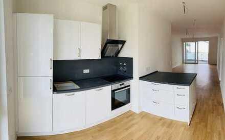 Wunderschöne 3 Zimmer Neubauwohnung inkl. Küche in Düsseldorf Golzheim! 5. Etage mit Fahrstuhl!