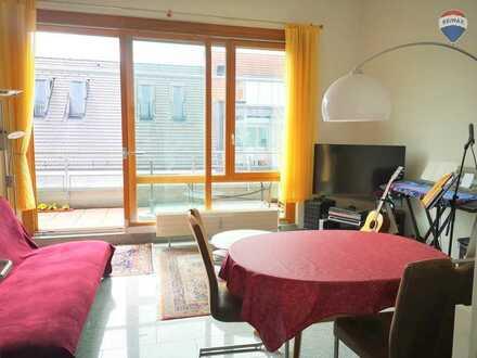 Wunderschöne 4-Zi-Maisonette-Wohnung zentral mit Münster-Blick, 2 Balkonen und Garagenstellplätzen!