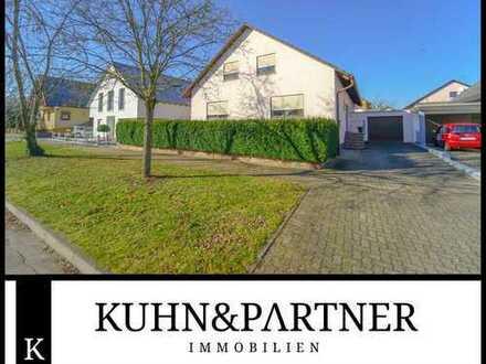 Harthausen   Gepflegtes, freistehendes Ein- bis Zweifamilienhaus mit Garten