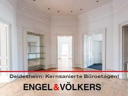 Bestlage Deidesheim: Repräsentative Büroetage in kernsanierter Winzervilla!