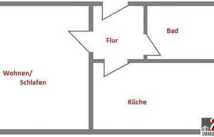 Schöne Singlewohnung mit Einbauküche!