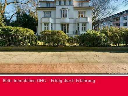 Ruhige Stadtwohnung direkt gegenüber des Bürgerparks in Altbremer Villa