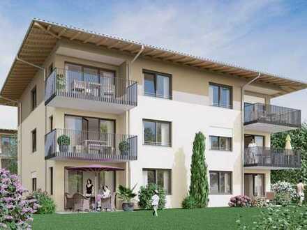 Erstbezug mit Balkon: schöne 3-Zimmer-Wohnung in Burglengenfeld