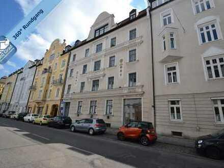 Einmalige Ladenfläche/Büro in denkmalgeschütztem Altbau in Toplage München-Schwabing