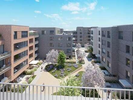 Staffelgeschoss! Hochwertige 2 Zimmer Neubau-Wohnung in den SteimkerGärten