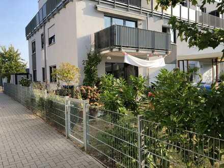 Stilvolle, neuwertige 4,5-Zimmer-Wohnung mit großzügigem Garten in Wiesloch