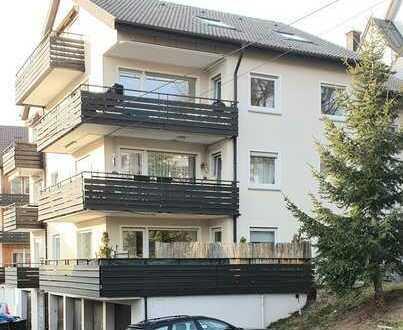 Gepflegte 3-Raum-Wohnung mit Balkon und Einbauküche in Freudenstadt