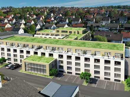 """TOP Neubau-Wohnung """"Am Musikerviertel"""" schicke Stadtwohnung mit Balkon ATP18"""