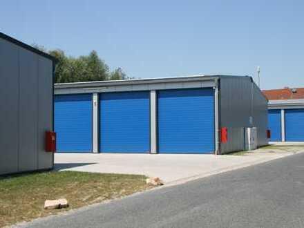 Lagerflächen / XXL-Garagen flexibel mieten - HEWI Lagerpark Altenberge
