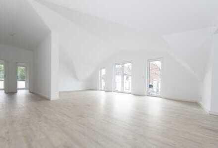 Darmstadt Villenkolonie: Extravagante Penthousewohnung mit einzigartigen Panorama Ausblick