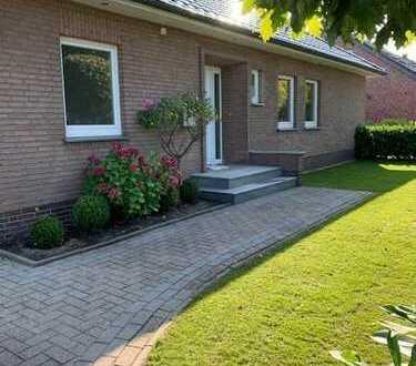 Barrierefreies Einfamilienhaus mit 3 Zimmern und gr. Garten!