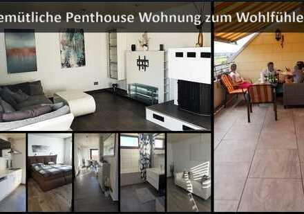 Gemütliche Penthouse-Wohnung zum Wohlfühlen