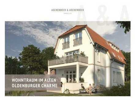 Wohntraum im alten Oldenburger Charme! Neubau Maisonette Wohnung im beliebten Ziegelhofviertel