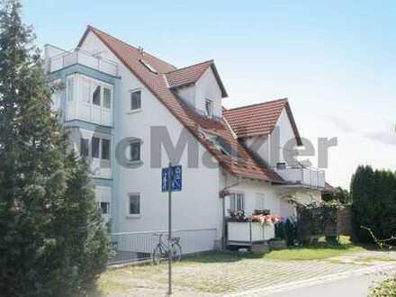 Attraktive 3-Zi.-Maisonette mit Dachterrasse und Loggia in attraktiver Lage nahe Nürnberg