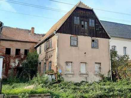 Denkmalimmobilie im historischen Kern von Püchau mit Potential