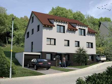 Der Traum vom Eigenheim - Doppelhaus-Neubau - nahe Bensheim