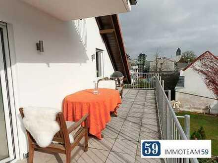 Haus im Haus ! 3 Balkone, 3 Zimmer - ein Traum