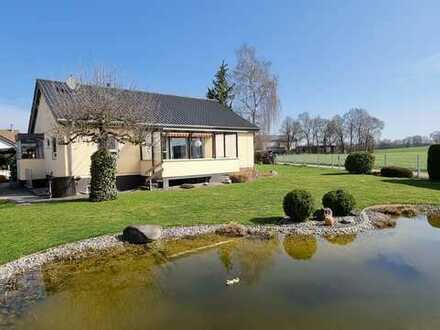TOP EFH mit großem Garten direkt am Feldrand! 124m² + 38m² wohnraumähnliche Nutzfläche!