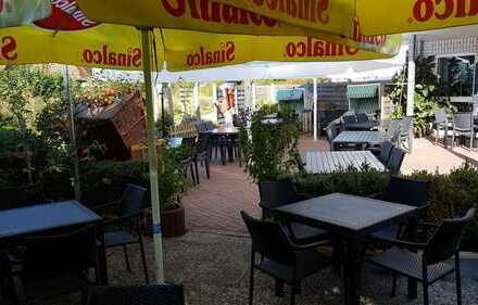 Restaurant/Imbiss/ Café am Strand von Kalifornien