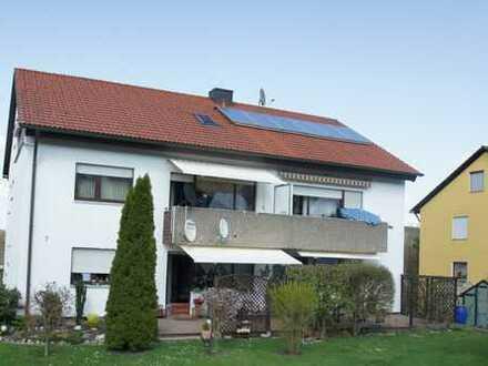 Helle EG-Wohnung mit großer Terrasse und Gartenanschluss