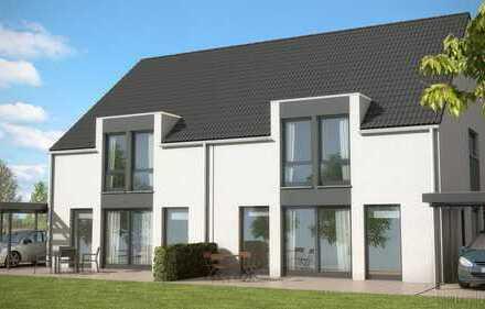 Neubau einer Doppelhaushälfte in begehrter Wohnlage