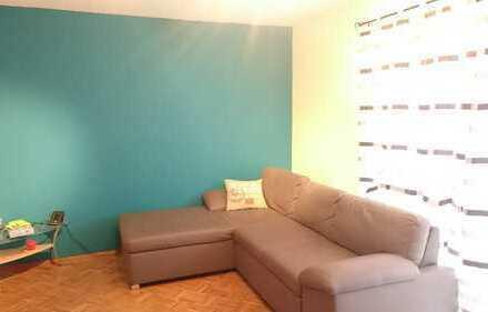 Gepflegte 3-Zimmer-EG-Wohnung mit Balkon und Einbauküche in Döggingen