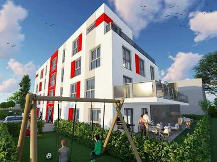 NEUBAU ! Wunderschöne 1 Zimmer Wohnung mit großem Balkon in zentraler Lage. Wohnung Nr. 5