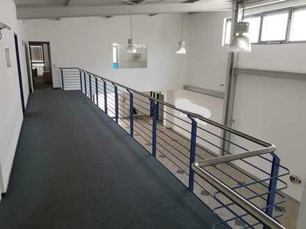 Gepflegte Hallen- und Büroräumlichkeiten zu vermieten im Kirrlacher Gewerbegebiet