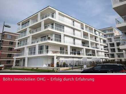 Top moderne 3-Zimmer-Neubau-Wohnung mit 2 Bädern und direktem Weserblick