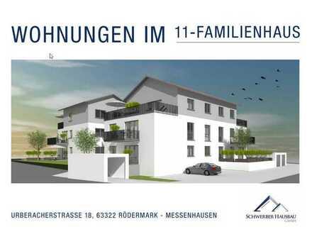 WHG 5****NEUBAU ERSTBEZUG, 3/4 Zimmerwohnung in Rödermark****