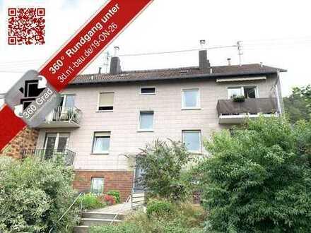 Renovierungsbedürftige Dachgeschosswohnung in schöner Feldrandlage von Alsenborn