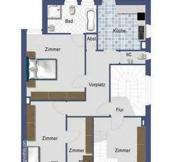 Heilbronn Kernstadt: 2,5 Zimmer-Altbau-Wohnung mit Balkon