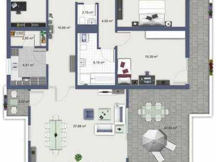 typische Wohnung für WG über den Dächern, aber mitten im Leben