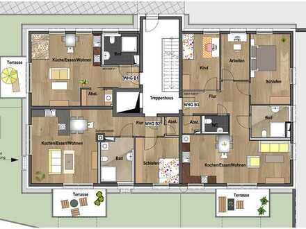 Erdgeschoss - Wohnung B01